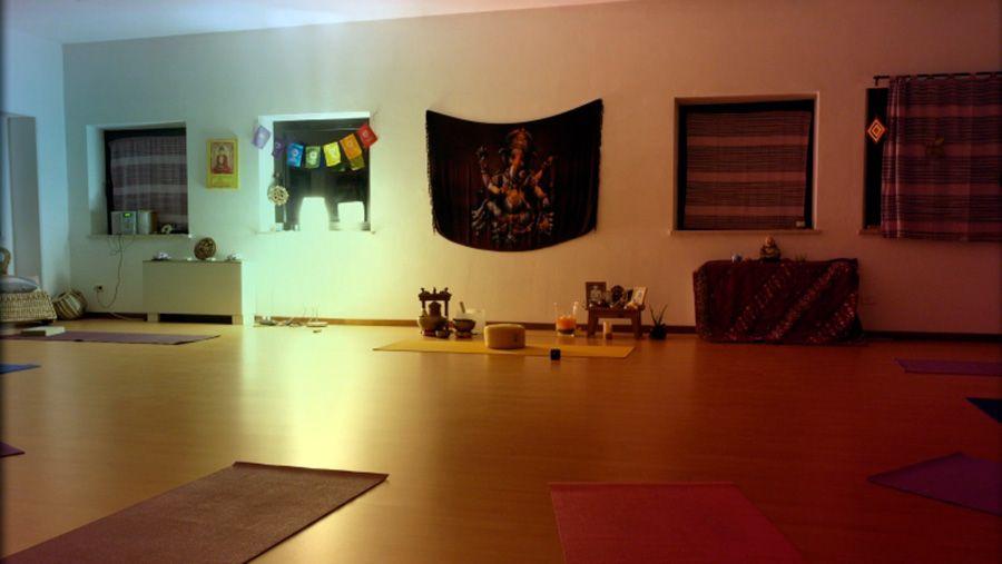 sede dei corsi di yoga a treia