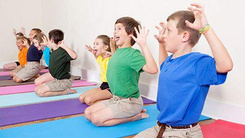 corso yoga per bambini