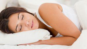 donna durante il sonno