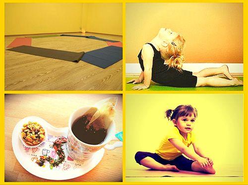 foto dei laboratori yoga bimbi ad osimo